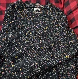 POL Confetti distressed sweater
